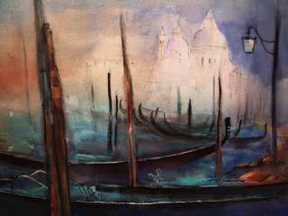 239. Venedig | Aquarell | 70 x 50 cm