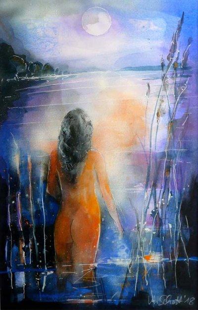 520. Melancholie I | Aquarell | 50 x 70 cm